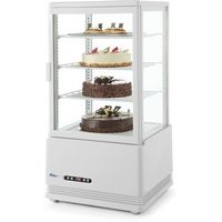 Szafy i witryny chłodnicze, Hendi Witryna chłodnicza nastawna biała wysokość 891 mm - kod Product ID