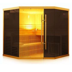 SAUNA FIŃSKA *PREMIUM* 500 Brown GLASS