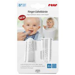 Szczoteczka do zębów na palec silikon REER 2szt