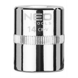 Nasadka sześciokątna NEO 08-232 1/4 cala Superlock 14 mm