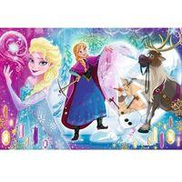 Puzzle, Puzzle Frozen/Ledové Království Překvapení pro Elsu 33x22cm 60 dílků v krabici 21x14x4cm