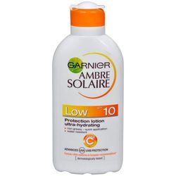 Garnier Ambre Solaire Solarium Lotion SPF 10 (ochrona Mleczko nawilżające Ultra) 200 ml