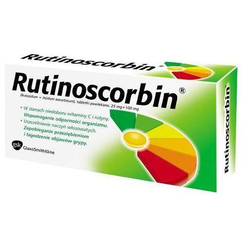 Leki na przeziębienie i grypę, Rutinoscorbin 90 tabletek