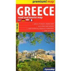 Premium! map Greece 1:700 000 - Praca zbiorowa (opr. kartonowa)
