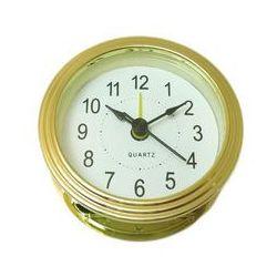 Wkładka zegarowa złota z funkcją alarmu