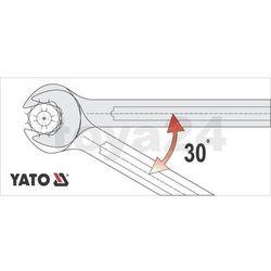 Klucz płaski z polerowaną główką 24x27 mm Yato YT-0376 - ZYSKAJ RABAT 30 ZŁ