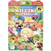Książki dla dzieci, Niesamowite owieczki na farmie (opr. broszurowa)