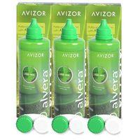 Płyny pielęgnacyjne do soczewek, Płyn do soczewek Alvera Solution 3 x 350 ml