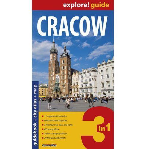 Przewodniki turystyczne, Cracow Przewodnik + atlas + mapa (opr. miękka)