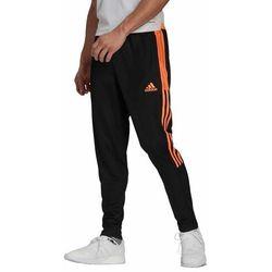 Spodnie męskie adidas Tiro Trackpant czarno-pomarańczowe GQ1049