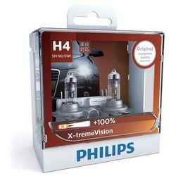 ZESTAW 2x Żarówka samochodowa Philips X-TREMEVISION 12342XV+S2 H4 P43t-38/60W/55W/12V