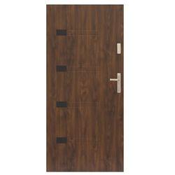 Drzwi zewnętrzne Prado 80 lewe orzech