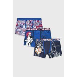 Blukids - Bokserki dziecięce Star Wars 128-164 cm (3-pack)