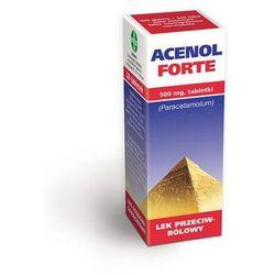 Acenol Forte, 500 mg, tabl.,20 szt
