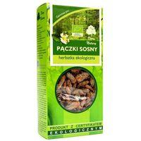 Herbaty ziołowe, HERBATKA PĄCZKI SOSNY BIO 50 g - DARY NATURY