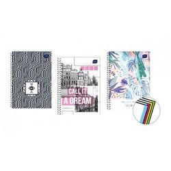Kołobrulion Interdruk, format B5, 100 kartek, kratka - Rabaty - Super Ceny - Autoryzowana dystrybucja - Szybka i tania dostawa