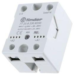 Przekaźnik panelowy półprzewodnikowy (SSR) wyjście 1NO 25A 21.6...280VAC zasilanie 24VDC 77.25.9.024.8250
