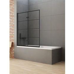 Parawan wannowy 100x140 P-0049 New Soleo Black New Trendy
