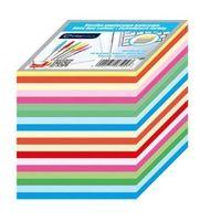 Pozostałe artykuły szkolne, Kostka papierowa kolorowa 90x90x90mm paski