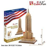 Puzzle, Cubic Fun, puzzle 3D Empire State Building