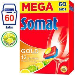 Somat Gold Lemon & Lime tabletki do zmywarki – 80 szt. - BEZPŁATNY ODBIÓR: WROCŁAW!
