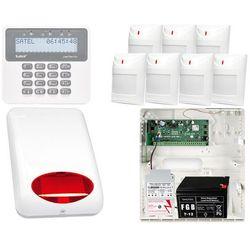ZESTAW ALARMOWY: Płyta główna Perfecta 16 + Manipulator PRF-LCD + 7x Czujnik ruchu + Akcesoria