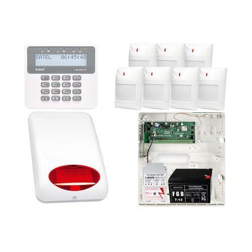 Zestawy alarmowe, ZESTAW ALARMOWY: Płyta główna Perfecta 16 + Manipulator PRF-LCD + 7x Czujnik ruchu + Akcesoria