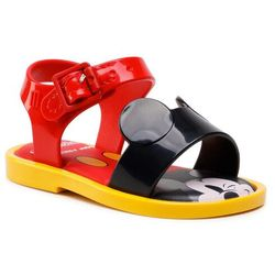 Sandały MELISSA - Mini Melissa Mar Sandal + Mick 33234 Red/Black/Yellow 53218
