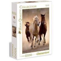 Puzzle, Puzzle Running horses 1000 - Clementoni
