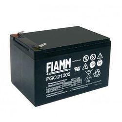 Fiamm FGC21202 - akumulator cykliczny ołowiowy 12V/12Ah/faston 6,3mm