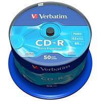 Płyty CD, DVD, Blu-ray, Płyta CD-R Verbatim 700MB Cake 50szt.
