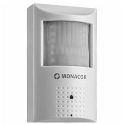 MONACOR ELAX-2037PIR Eco Line: Kolorowa kamera w obudowie czujnika ruchu PIR