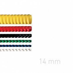 Grzbiety plastikowe O.COMB 14mm niebieskie 100szt./op. OPUS