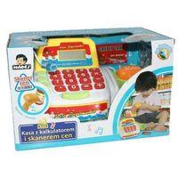 Sklepy i kasy dla dzieci, MADEJ Kasa z kalkulatorem i skanerem cen