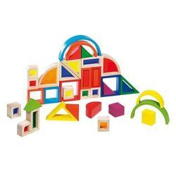 Goki Rainbow blocks with wooden Windows 37dlg.