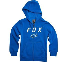 bluza FOX - Youth Legacy Moth Zip Fleece Blue (002) rozmiar: YXL