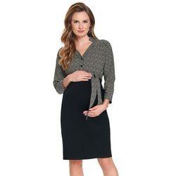 ubrania ciążowe Elegancka sukienka ciążowa Gohda Piękny Brzuszek