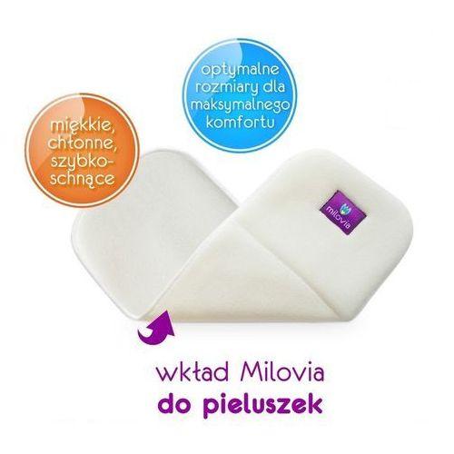 Pozostałe pieluchy, - MILOVIA - Wkład chłonny do otulacza lub pieluszki, wielowarstowy MIKROFIBRA