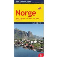 Mapy i atlasy turystyczne, Norwegia mapa 1:1 200 000 Jana Seta (opr. twarda)