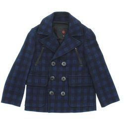 John Richmond Płaszcz dziecięcy Niebieski 6 lat Przy zakupie powyżej 150 zł darmowa dostawa.