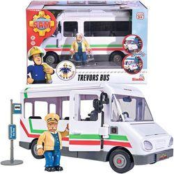 Pojazd autobus Trevora z figurką Strażak Sam