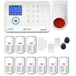 Bezprzewodowy alarm gsm 3G + WiFi PG R9 + syrena bezprzewodowa 120 dB PG R9 bezprzewodowa (-15%)