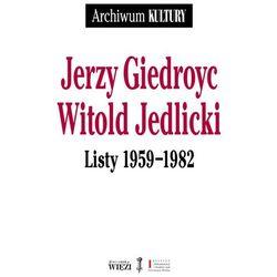 Listy 1959-1982 - Giedroyc Jerzy, Jedlicki Witold (opr. miękka)
