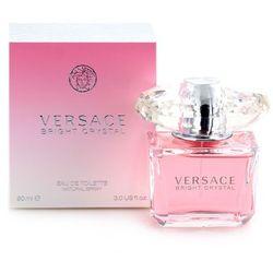 Versace Bright Crystal Zestaw - woda toaletowa 90 ml spray + balsam do ciała 100 ml