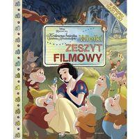 Książki dla dzieci, KRÓLEWNA ŚNIEŻKA I SIEDMIU KRASNOLUDKÓW WIELKI ZESZYT FILMOWY (opr. broszurowa)