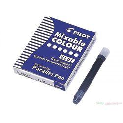 6 nabojów do pióra Parallel Pen Niebieski