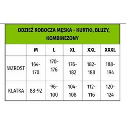 Kurtka ocieplana ZIMOWA WIN LONG r. XL NORDSTAR