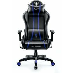 Fotel DIABLO CHAIRS X-One 2.0 (L) Czarno-niebieski DARMOWY TRANSPORT