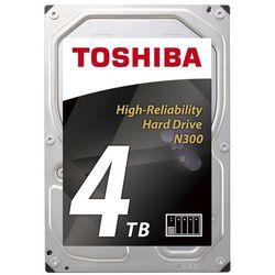 """Dysk serwerowy Toshiba N300 4TB, SATA, 3.5"""", BOX (HDWQ140EZSTA ) Szybka dostawa! Darmowy odbiór w 20 miastach!"""