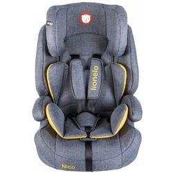 Fotelik 9-36 kg Nico yellow